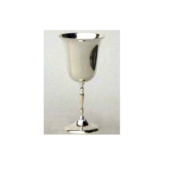 Beautiful Silver Plated Engraved Brass Wine Goblet Buy Metal Wine