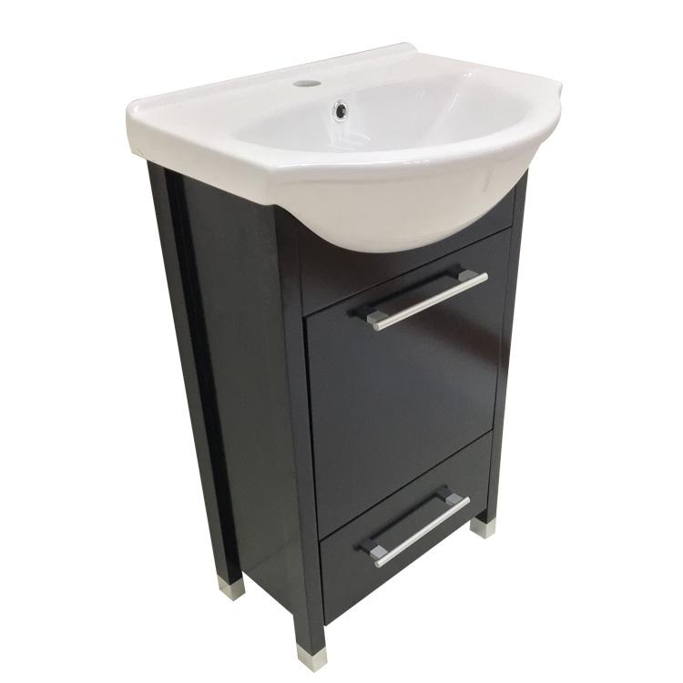 12 Inch Deep Corner Solid Wood Bathroom Cabinet With Cupc ...