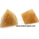 Yellow Aventurine 4 Element Pyramid
