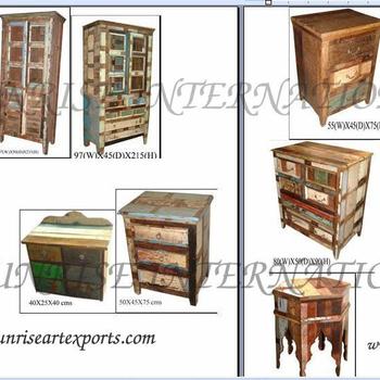 Muebles De Madera Recuperada,Reciclado India Muebles De Madera - Buy ...