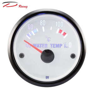 52mm led dual color yacht water temp gauge