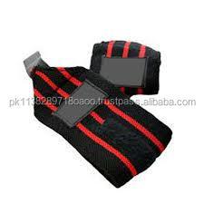 Apoio de pulso de halterofilismo elástico Wrist Wraps Top Quality