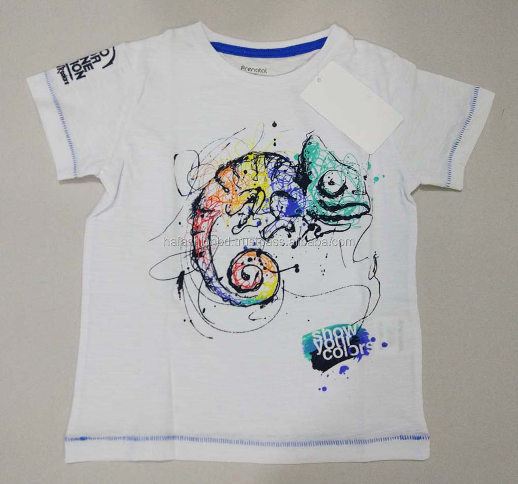 T-shirt custom printed promotional Men's t-shirt