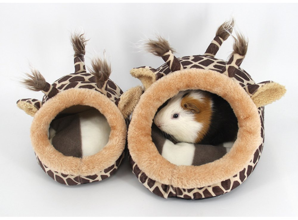 Small Animals Bed Hamster Cave Cage Accessories, Warm Pet Nest for Hedgehog Dwarf Mouse Rabbit Totoro Guinea pigs Squirrels