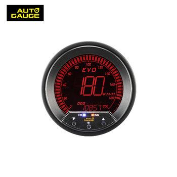 85mm Digital Electrical 4 Colors Gps Speedometer - Buy Auto Dashboard  Speedmeter Speed Meter Tachometer,Lcd Backlight Display With Warning Peak  Kmh