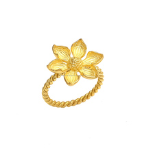 Wholesale Fashion Charming Flower Ring New Model Wedding Ring