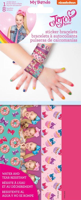 Nickelodeon JoJo Siwa Sticker Bracelets