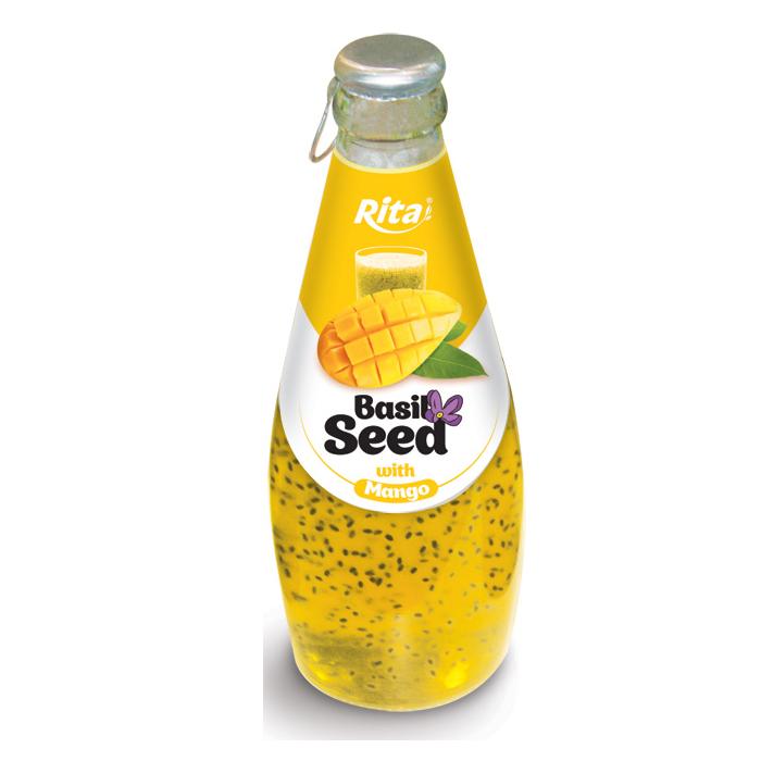 290 мл стеклянная бутылка Василий семена напиток с ароматом манго