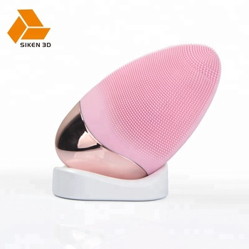 NEW warm silicone waterproof facial cleansing brush