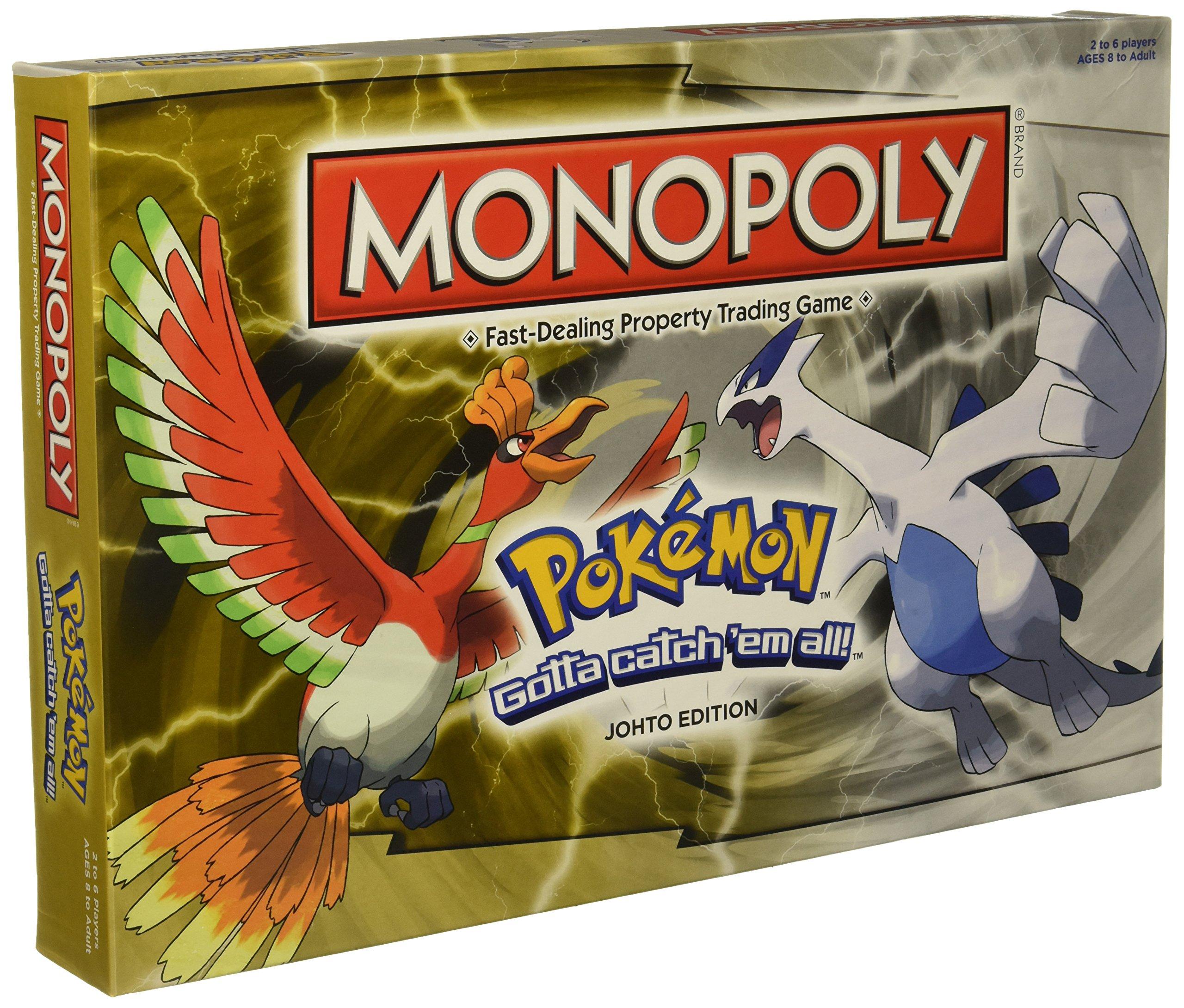 Monopoly: Pokémon Johto Edition Board Game