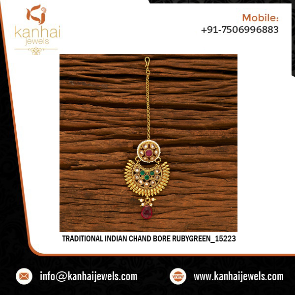 Traditional Indian Chand Bore Rubygreen_15223