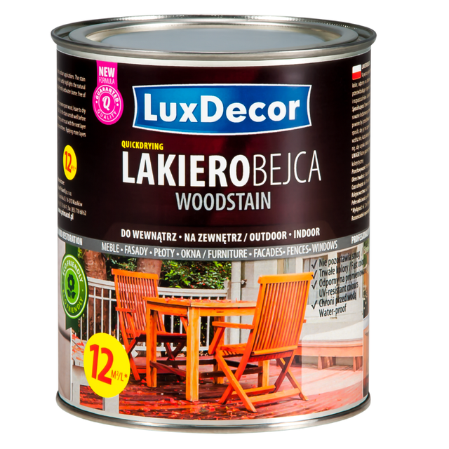 Good Luxdecor Wood Stain Varnish   Color U0026amp; Protection   200 Ml, 750 Ml,
