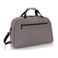 Mens canvas small duffle bag with front pocket vintage canvas duffle