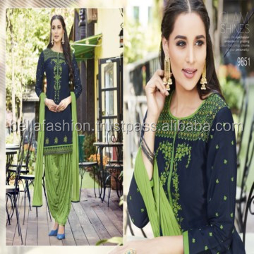 Superb Unique Color Designer Latest Indian Patiala Salwar Suits