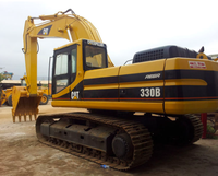 Caterpillar 330b in good price good quality used excavator