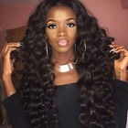 Wholesale the brazilian hair in mozambique aliexpress 8A Grade full cuticle aligned loose wave weave virgin hair