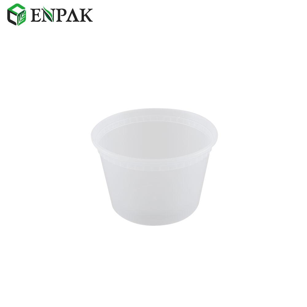Premium Quality 16oz plastic disposable food grade deli soup cup