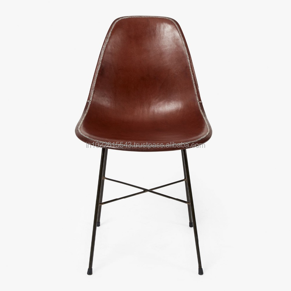 Industrial leather dining chair - Giron Iron Leather Dining Chair Giron Iron Leather Dining Chair Suppliers And Manufacturers At Alibaba Com