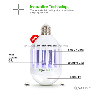 Zapplight Dual Led Lightbulb And Bug Light Zapper Buy