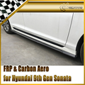 For Hyundai 9th Gen Sonata LF Carbon Side skirt extension (All model)