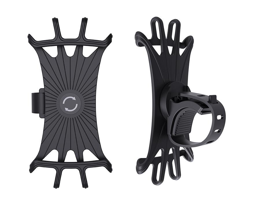 2020 scooter silicone  Bike Phone Holder  Bicycle Phone Support rotation Mount For Smartphone