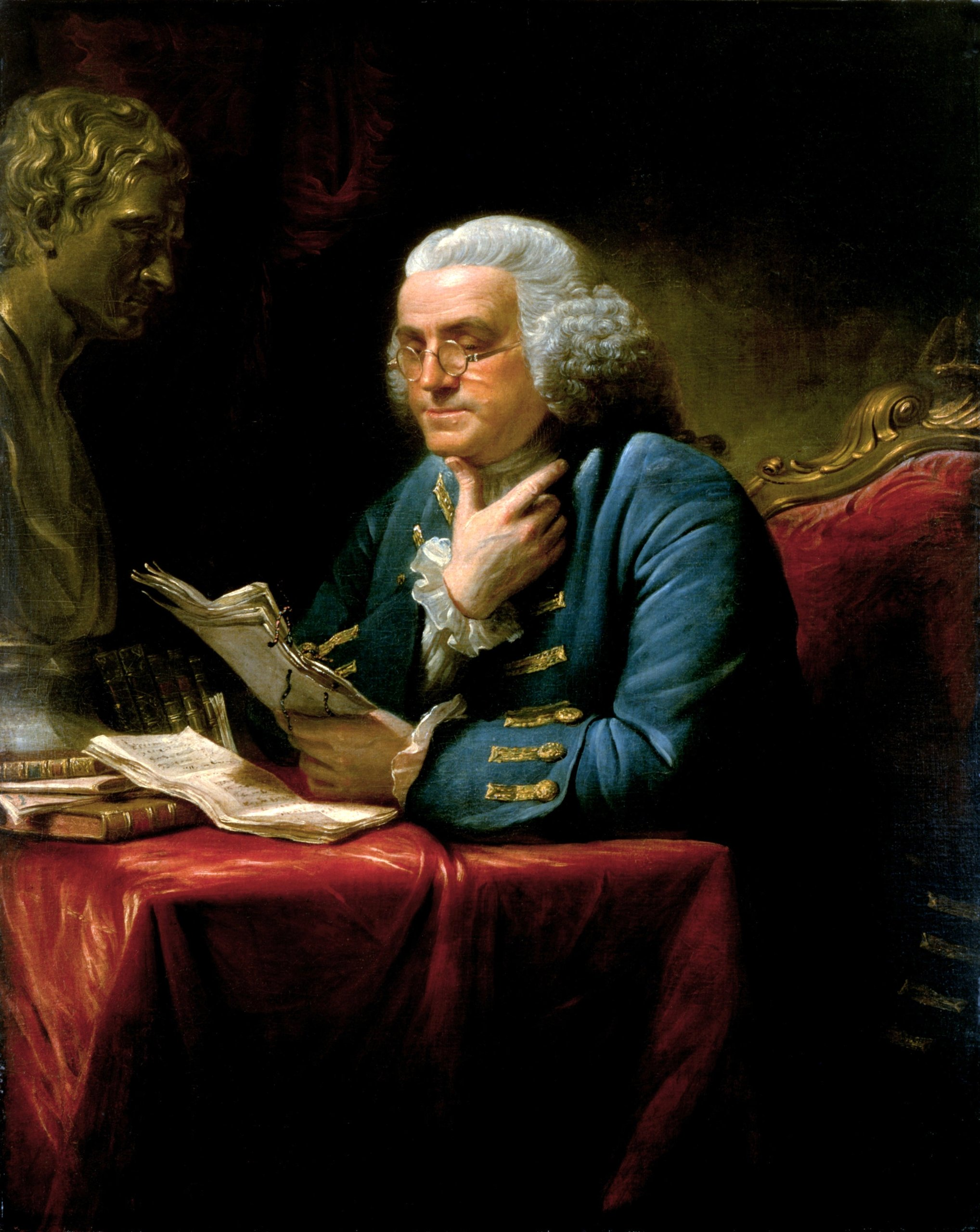 the contribution of benjamin franklin to the Benjamin franklin was a leading figure in early american history he was a scientist, inventor, founding father and diplomat living from 1706-90 all content is either in the public domain or.