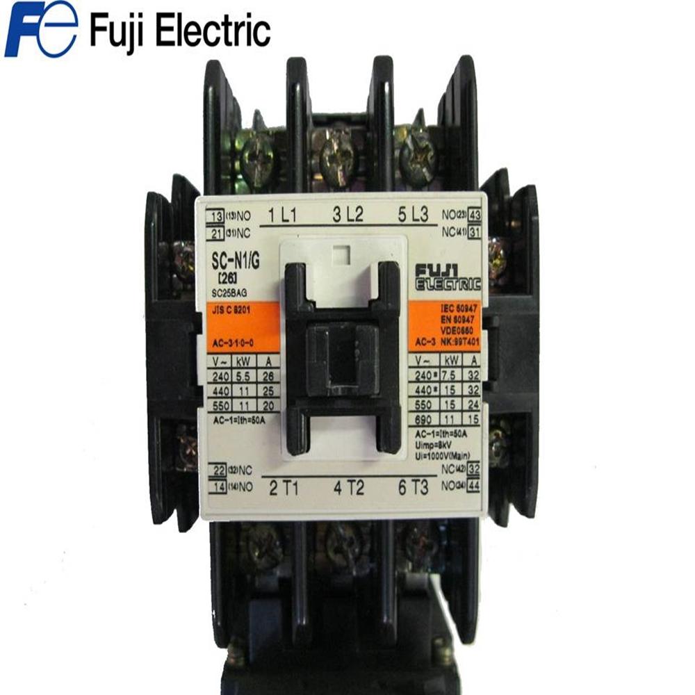 Fuji Magnetic Contactor SC-3N 200-220V 50-60Hz