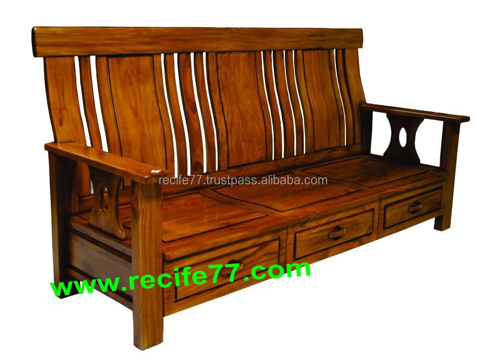 Teak Wood Living Room Furniture, Teak Wood Living Room Furniture Suppliers  and Manufacturers at Alibaba