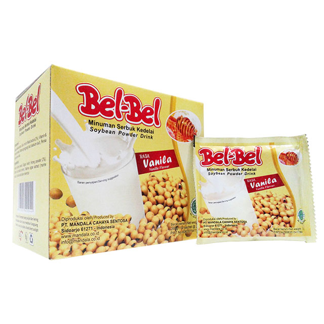 Best Vanilla Soya Milk Powder from Indonesia