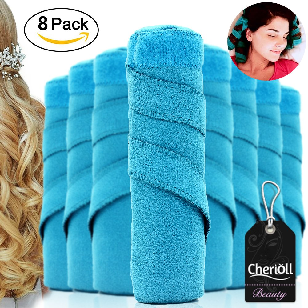 Sleeping Hair Curler,Nighttime Hair Curlers for Long, Thick or Curly Hair, Hair Rollers Heat-Free Rollers to Style Hair While Sleep
