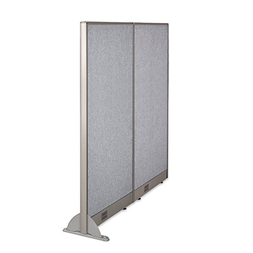 GOF Wall Mounted Office Partition, 60W x 72H / Office Panel, Room Divider (60W x 72H)