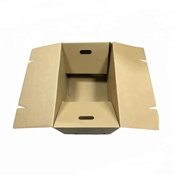 Brown Moving Corrugated carton shipping boxes for Mail, View