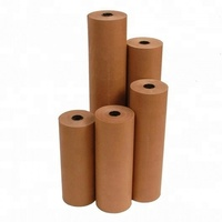 Wood Pulp Pulp Material and Anti-Curl Feature Kraft liner paper roll from Thailand