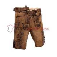 Premium Quality Men Lederhosen Ocberfest Best sale Lederhosen with wax