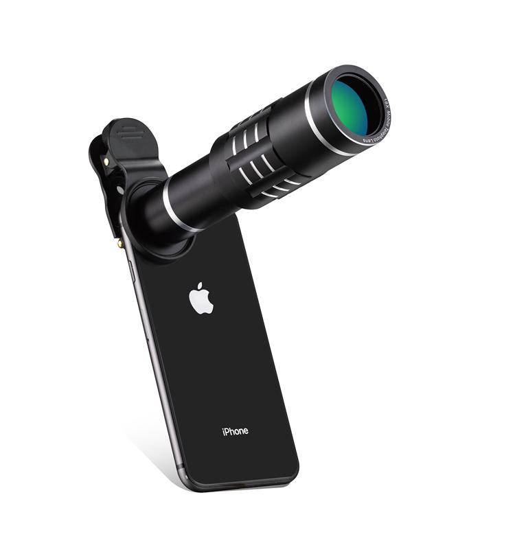 18x Zoom Mobile Phone Optical Telescope Telephoto Lens Kit for Iphone 5