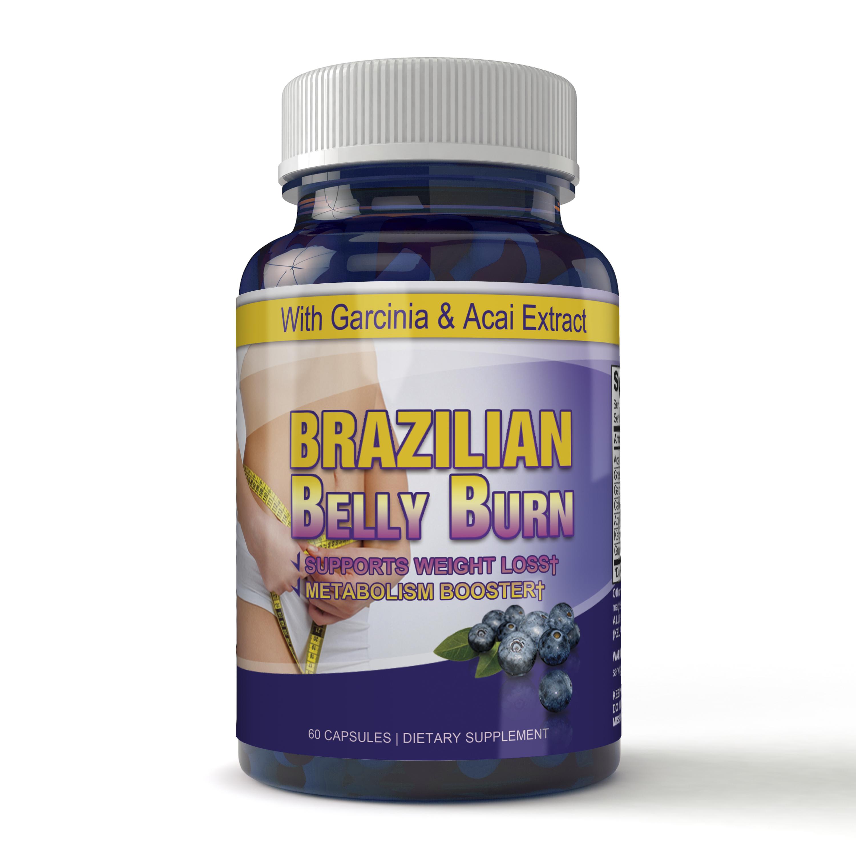 Brazilian Belly Burn Diet Pill 60 Capsules Made With Garcinia Cambogia And Acai Extracts Buy Malabar Tamarind Pills Weight Loss Garcinia Cambogia