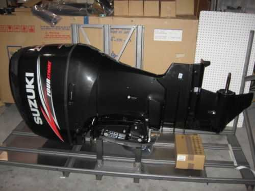 USED SUZUKI 250HP 4-STROKE OUTBOARD MOTOR ENGINE