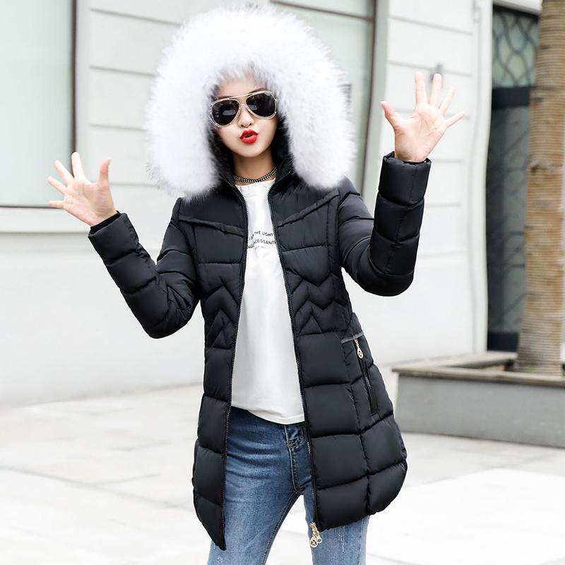 ecab86ac2 Female Long Jacket 2018 Winter Coat Women Fake Fur Collar Warm Woman Parka  Outerwear Down - Buy Factory Price High Quality Lady Puffer Jacket Winter  ...