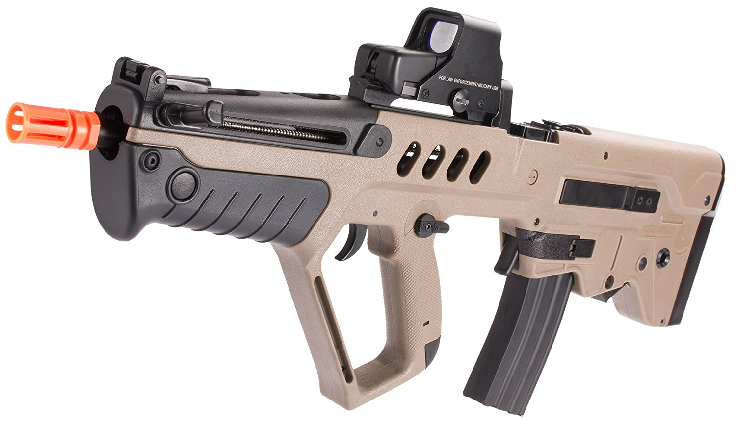Evike IWI Licensed TAVOR TAR-21 Airsoft AEG Rifle by Umarex w/ Metal Gearbox (Dark Earth / Competition Series) - (39918)
