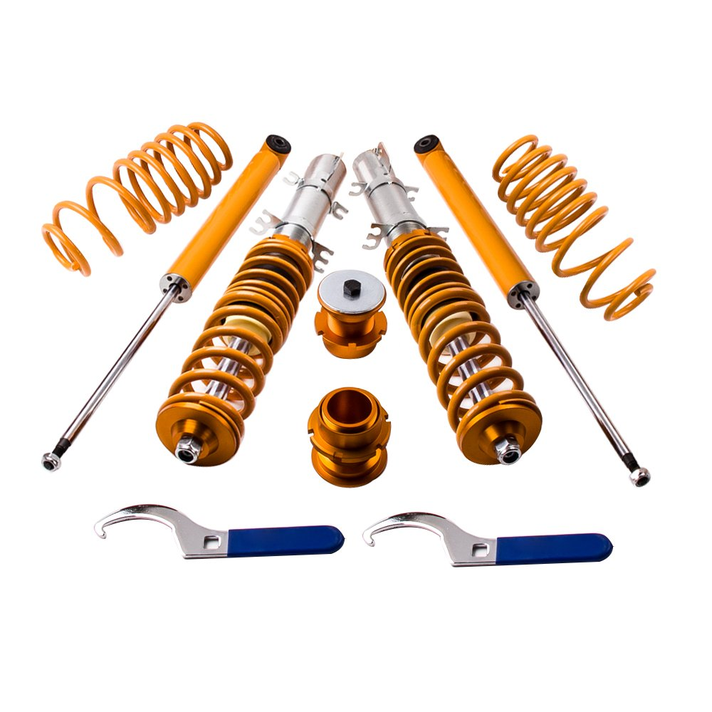 maXpeedingrods Coilovers Shocks Struts for Audi A3 TT Mk1 VW/Bora A4 Coil Over Spring