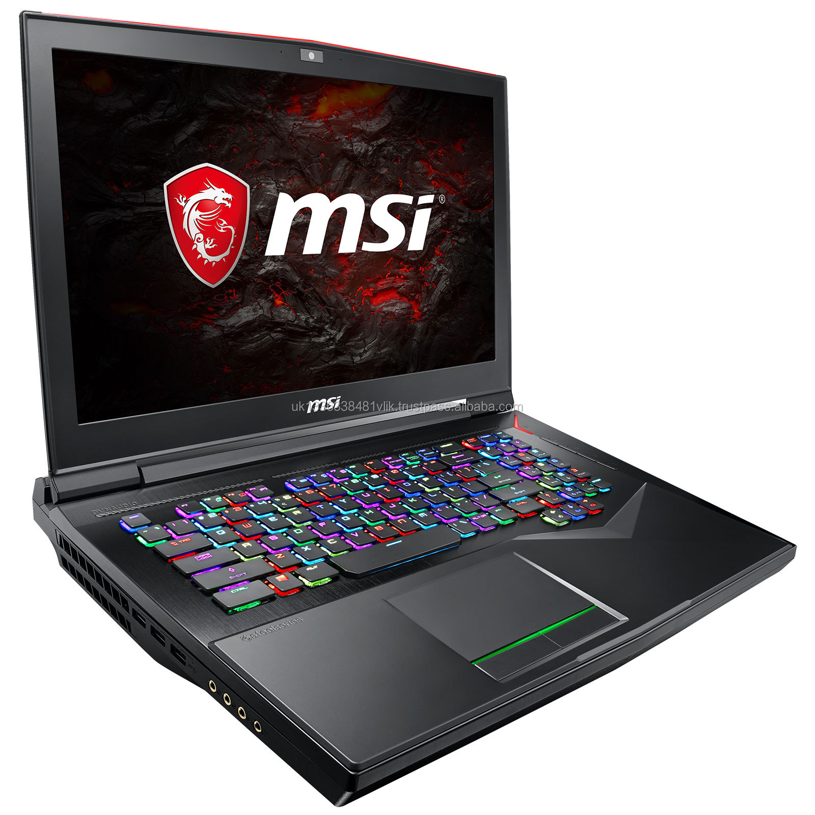 "MSI GS75 Stealth-093 17,3 ""Razor Dünne Lünette Gaming Laptop RTX 2080 8G Max-Q, 144Hz 3 ms, Intel i7-8750H (6 kerne), 32 GB, 5"