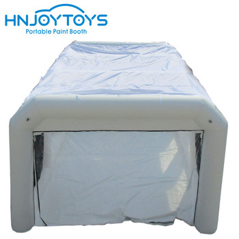 Portable cheaper durable inflatable car paint spray booth for repairs and painting cars