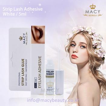 a0e2e1ce3b3 Macy Korea eyelash glue white high quality private labeling for strip lashes