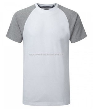 Super Quality Mens Plain Tee Shirts Dry Fit Two Tone Tee Shirt Best