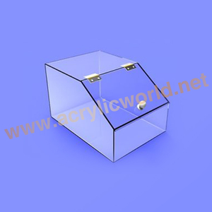 customized retail store clear acrylic candy bins wholesale