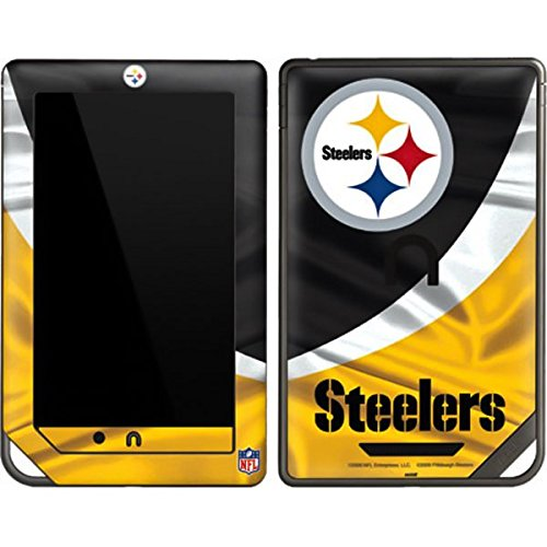 NFL Pittsburgh Steelers Nook Color & Nook Tablet by Barnes and Noble Skin - Pittsburgh Steelers Vinyl Decal Skin For Your Nook Color & Nook Tablet by Barnes and Noble