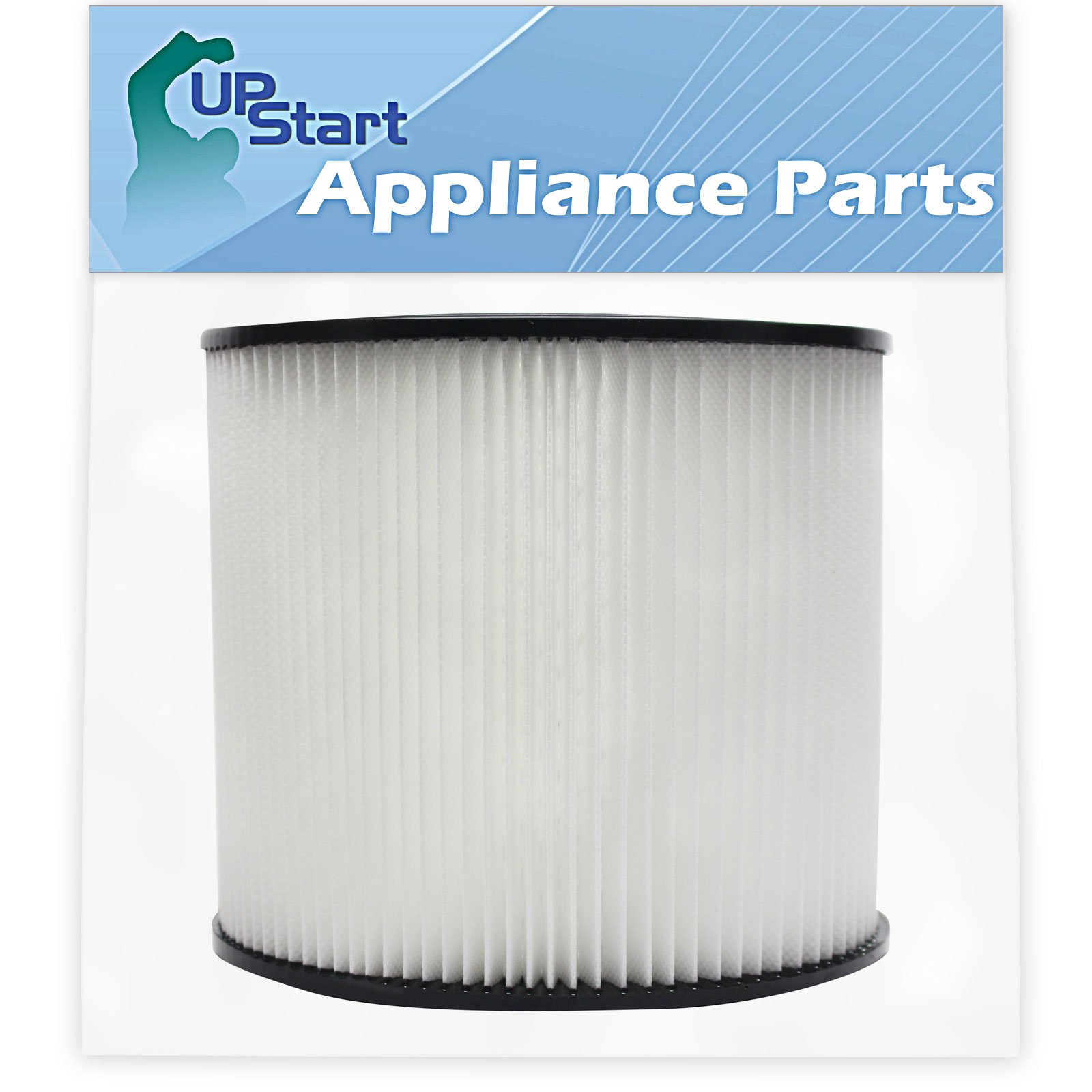 Replacement 90304 Filter for Shop-Vac - Compatible with Shop-Vac 90304, Shop-Vac LB650C, Shop-Vac QPL650, Shop-Vac 965-06-00, Shop-Vac CH87-650C, Shop-Vac SL14-300A, Shop-Vac 925-29-10, Shop-Vac 963-12-00, Shop-Vac 596-07-00, Shop-Vac 586-74-00, Shop-Vac 586-75-00, Shop-Vac 586-76-00