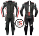 Motorcycle Motorbike Racing Two Leather Suit Trousers Red