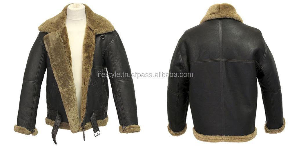 0961d88b5 collar italian leather and fur jacket leather jacket fur men ladies fox fur  leather jacket fur