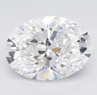 CVD Lab Created Oval/Pear Diamonds, GH Color, 0.5 - 3.99 Carat Certified
